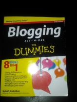 Book Cover - Blogging for Dummies