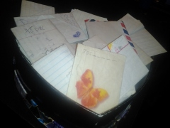 My box of letters
